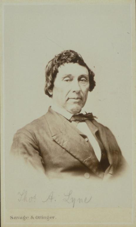 [1867] Thomas A Lyne daguerrotype, Savage & Ottinger