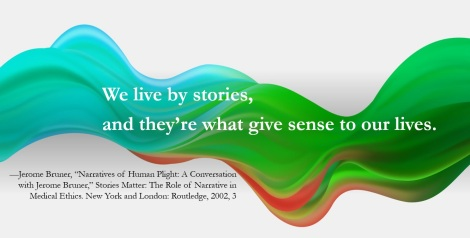 We Live By Stories